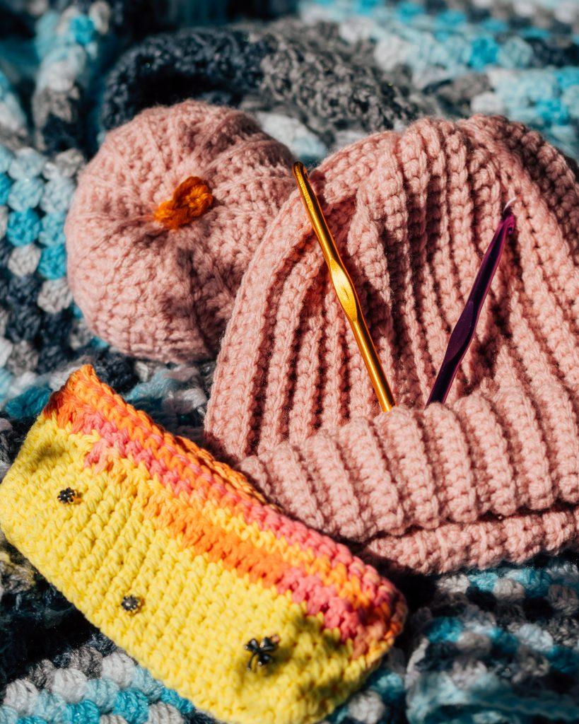 Hand-Knit Gift Set