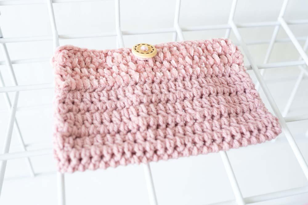 Medium Crochet Pouch