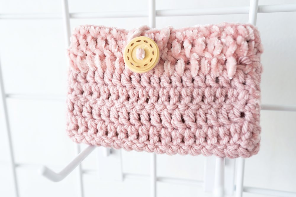 Small Crocheted Pouch